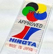 Luxe Karategi Hirota 163 WKF KATA taille haute taille 2.5 (150CM)