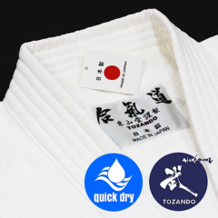 "Dogi Aikido coton polyester Yomogi Tozando ""Made in Japan"""