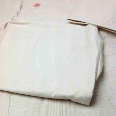 Set Aikidogi Iwata 300 W coton écru double épaisseur taille 3L