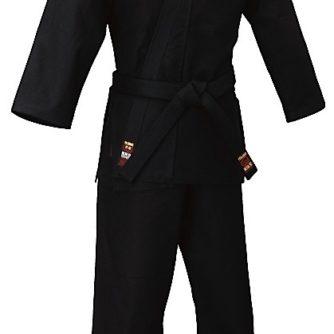 Kimono Ninjutsu Tokaido SAb kongo noir coton