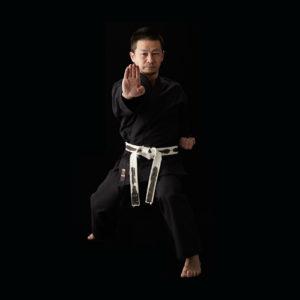 Luxe Kimono Karate Kobudo noir coton Tokaido Sab Kongo