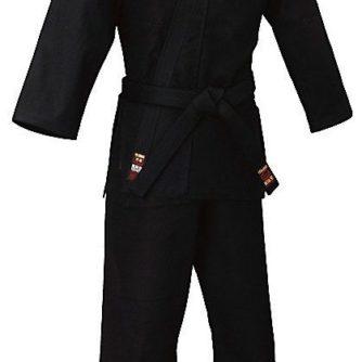 kimono ninjutsu karate gi tokaido sab kongo noir coton
