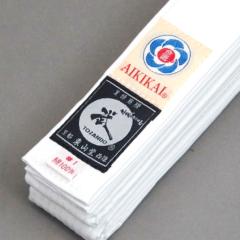 Ceinture blanche Aikido Tozando Aikikai