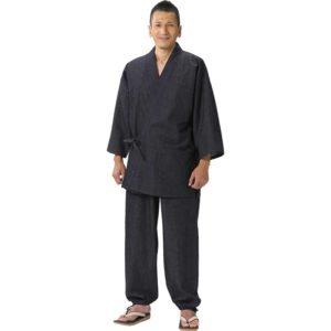 """Luxe samue japonais Denim coton jeans noir """"Made in japan"""""""
