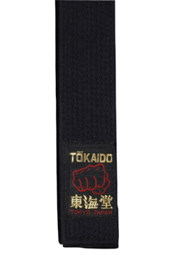 Luxe ceinture noire Karate Tokaido Soie BLH Grand Master