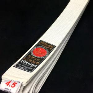 Ceinture blanche Karate Tokaido BLW SKIF Taille 4.5 (275cm)
