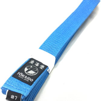 Ceinture bleu Karate Tokaido