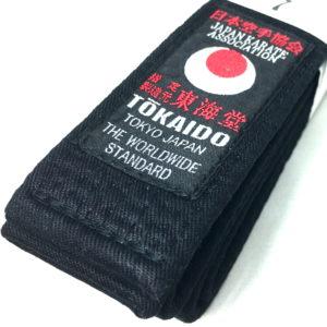 Ceinture noire Karate Tokaido BLBK JKA (Rouge) Taille 7 (310cm)