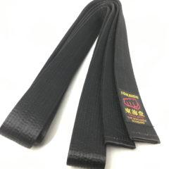Ceinture noire Karate Satin Tokaido BLS Kobushi Taille 5 (280cm)