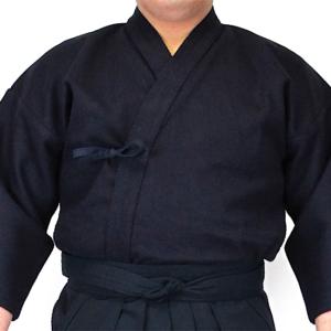 Dogi Kendo Orizashi coton bleu nuit simple épaisseur