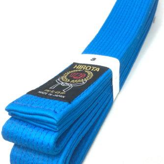 Ceinture bleu Karate Hirota Kumite Taille 3 (250cm)