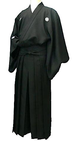 "Set kimono samourai Ryoma Sakamoto ""Ryomaden"" Taille 2L ""HandMade in Japan"""