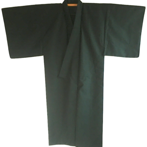 Set Antique Kimono japonais soie noire homme Made in Japan