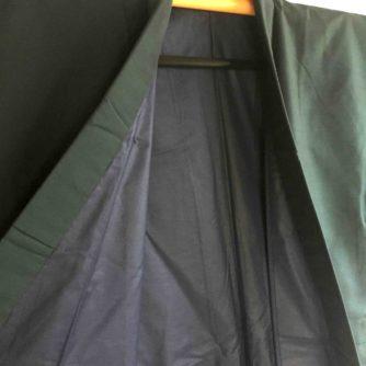 Antique kimono japonais soie noire homme 4