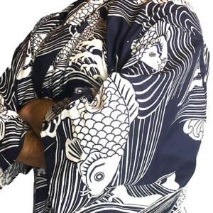 Yukata Koi Carpe japonaise homme