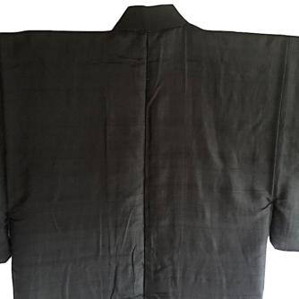 antique_kimono_traditionnel_japonais_samourai_soie_noire_kamon_rin_homme2
