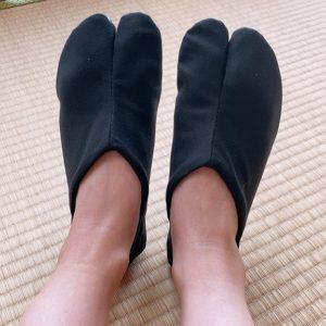 Chaussure Tabi Jikatabi Matsuri No Ato noir 27cm